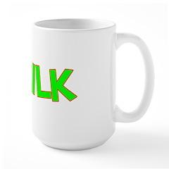 I Love-Alien Milk Large Mug
