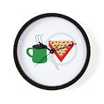 Cherry Pie Wall Clock