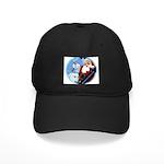 Santa Unchains Dog Black Cap