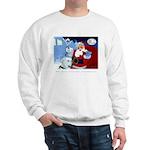Santa Unchains Dog Sweatshirt