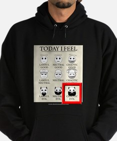 Today I Feel - Chaotic Evil Hoodie (dark)