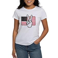 Sign Peace Flag Tee