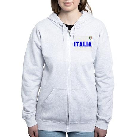 Italia Women's Zip Hoodie