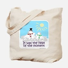 Melted Snow Love Tote Bag