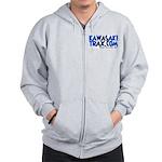 KawasakiTrax.com Logo Zip Hoodie
