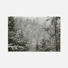 Winter Wonderland Rectangle Magnet (10 pack)