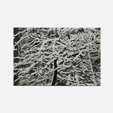 Fresh Fallen Snow Rectangle Magnet (10 pack)