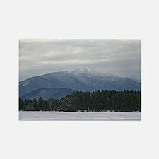 Scenic Adirondack Winter Rectangle Magnet (10 pack
