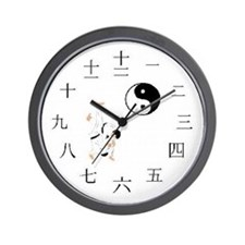 Asian Design Wall Clock