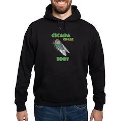 Cicada Craze 2007 Hoodie (dark)