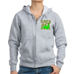 Client 9 From Outer Space Zip Hoodie