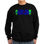 Aliens For Hillary Clinton Sweatshirt (dark)