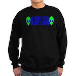 Aliens For Hillary Clinton Sweatshirt (dark)