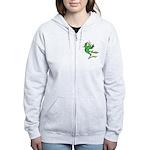 Silly Prince Frog Women's Zip Hoodie