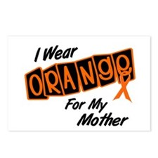 I Wear Orange For My Mother 8 Postcards (Package o