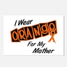 I Wear Orange For My Mother 8 Postcards (Package o