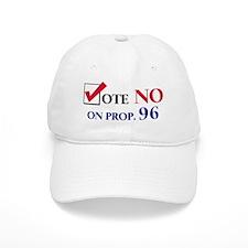 Vote NO on Prop 96 Baseball Cap