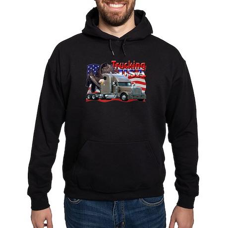 Trucking USA Hoodie (dark)