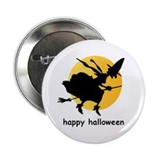 "Bewitching moon 2.25"" button"