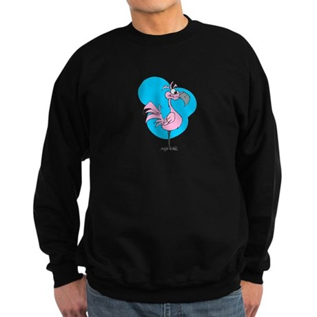 Silly Flamingo Sweatshirt (dark)