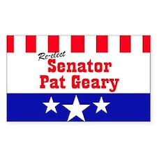 SENATOR GEARY - Decal