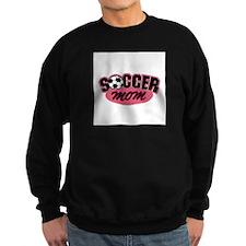 Pink Soccer Mom Design Sweatshirt
