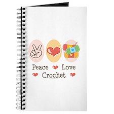 Peace Love Crochet Journal
