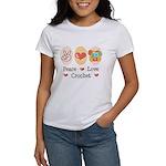Peace Love Crochet Women's T-Shirt