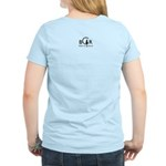 Black Cat Rescue Women's Light T-Shirt - Back View