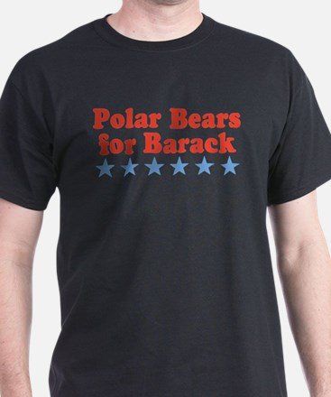 Polar Bears For Barack T-Shirt