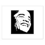 Obama Portrait Small Poster
