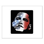 Obama Stars and Stripes Small Poster