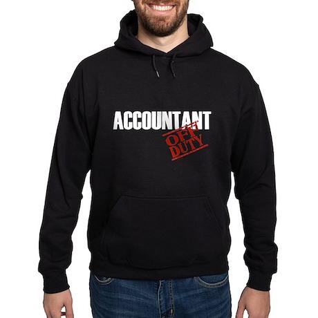 Off Duty Accountant Hoodie (dark)