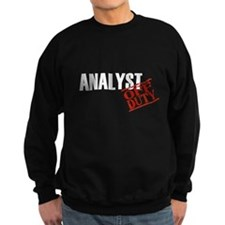 Off Duty Analyst Sweatshirt