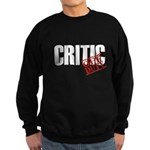 Off Duty Critic Sweatshirt (dark)