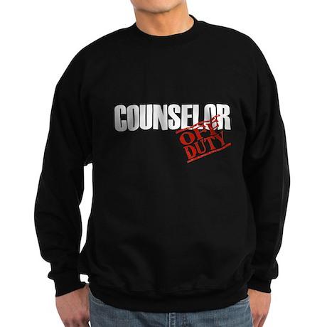Off Duty Counselor Sweatshirt (dark)