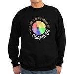Proud of Obama Vote Sweatshirt (dark)