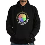 Proud of Obama Vote Hoodie (dark)