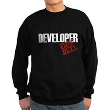Off Duty Developer Sweatshirt