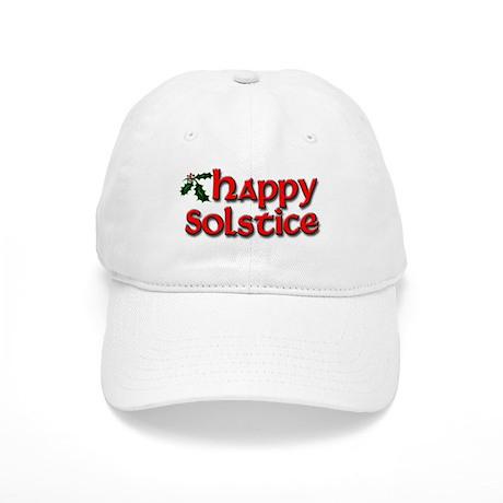 Happy Solstice Cap