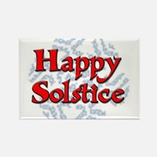 Happy Solstice Rectangle Magnet