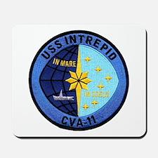 USS INTREPID Mousepad