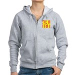GLBT Hot Pocket Pop Women's Zip Hoodie