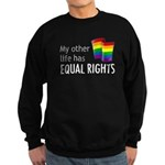 My Other Life Rainbow Sweatshirt (dark)