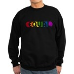 Equal Rainbow Sweatshirt (dark)