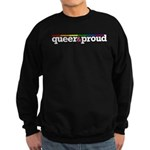 Queer&proud Sweatshirt (dark)