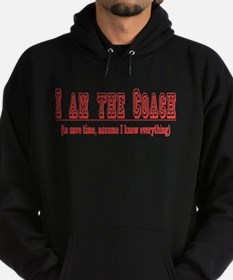 I'm the Coach- Red Hoodie