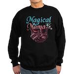 Magical Mama with Baby in Wom Sweatshirt (dark)