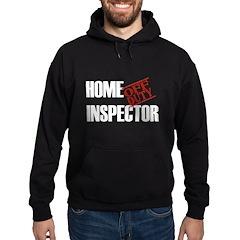 Off Duty Home Inspector Hoodie (dark)