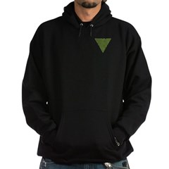 Arboreal Triangle Pocket Knot Hoodie